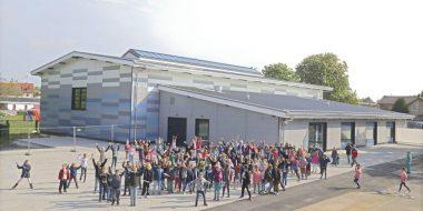 Neue Sporthalle der Paternusschule