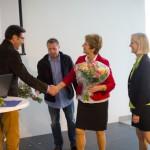 Klaus Klinger dankt den beiden Schulleiterinnen für die erfolgreiche Zusammenarbeit