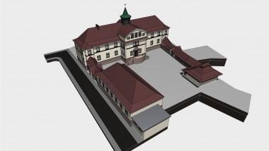Schlossbergschule Computermodell