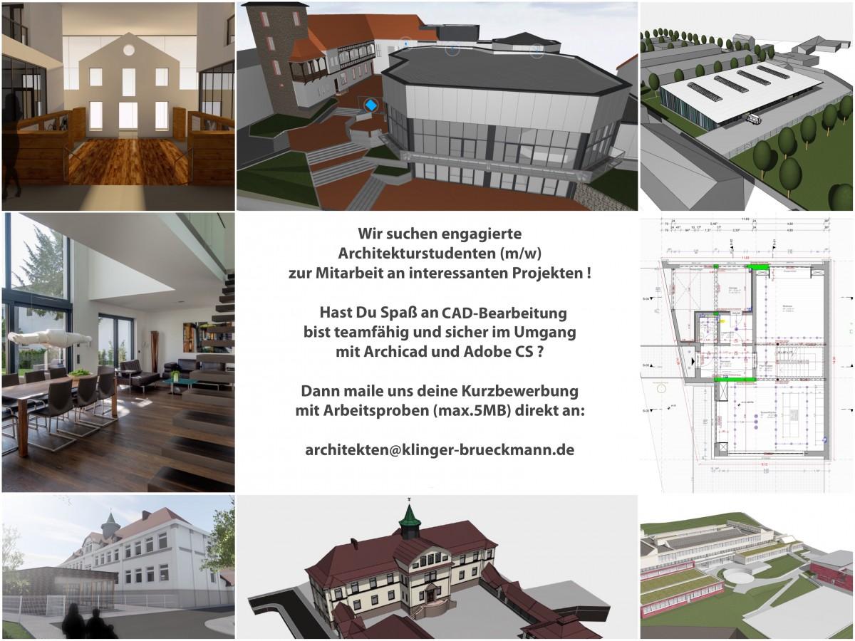 Architekten Suchen aktuelles klinger brückmann architekten