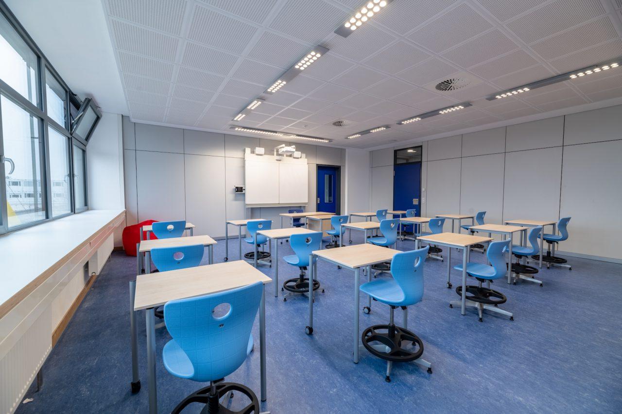 GSS Bensheim - Klassenraum