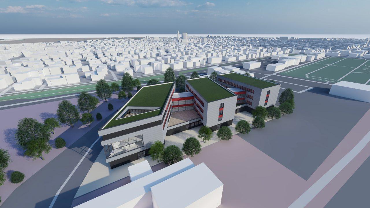 Neubau Büro- Produktion- und Laborgebäude