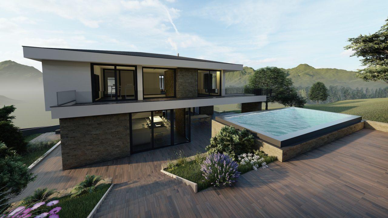 Neubau Villa S